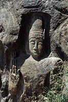 Buddha, bas relief statue, Myanmar