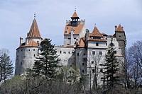 Bran Castle, Dracula´s castle, Bran, Romania, Europe