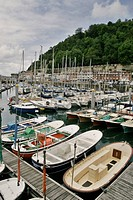 fishing port and marina Donostia, San Sebastian, Gipuzkoa, Basque Country, Spain