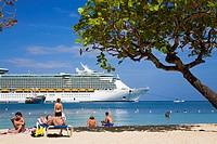 Turtle Beach, Ocho Rios, St Ann´s Parish, Jamaica, Caribbean