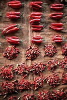 Chilies for sale, Alor Island, Alor, Indonesia, Southeast Asia, Asia