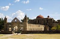 Monastery and church of Cuilapan, Oaxaca, Mexico, North America