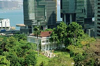 Flagstaff House and Teaware Museum, the oldest western style building in Hong Kong, China