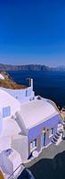 Thira Fira, Santorini, Cyclades Islands, Greece