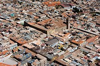 Aerial view, Potosi, Bolivia, South America
