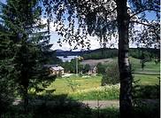 Gård i Sörmland Landscape, High Angle View, Sweden