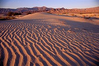 Sand dunes at Stovepipe Wells, Death Valley National Park, California, USA, North America
