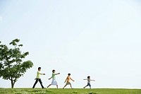 The Japanese Family Who Walks