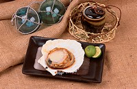 Scallop With Shell On Plate (thumbnail)