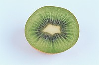 Half Of Kiwi Fruit