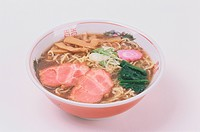 Chinese Noodle Dish With Meat