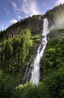 Stuibenfall, Tyrol´s highest waterfall, Otztal valley, Tyrol, Austria, Europe
