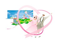 Bride And Groom (thumbnail)
