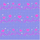 indoors, wallpaper, background, star, heart, design arts, pattern