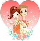 couple ring, lover, affection, girl friend, boy friend, couple