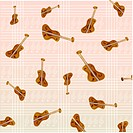 cello, wallpaper, violin, music, background, indoors, pattern