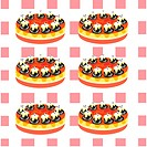 Indoors, wallpaper, background, cake, bread, design arts, pattern (thumbnail)