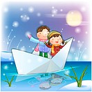 dating, snow, couple, boy, girl, child