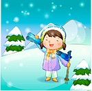 boy, snow, seasons, ski, chirstmas, winter