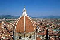 Duomo And The Florence City