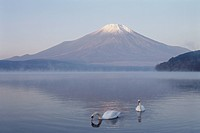 Mt. Fuji And Lake Yamanaka (thumbnail)