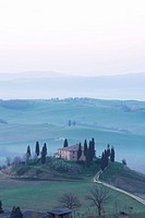 Farmhouse near San Quirico, Val D´Orcia, Tuscany, Italy, Europe