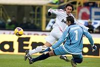 filippo inzaghi ,bologna 2009 ,serie a football championship 2008/2009 ,bologna_milan