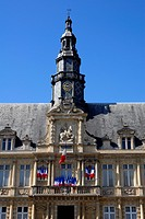 Hotel de Ville, Reims, Marne, Champagne_Ardenne, France, Europe