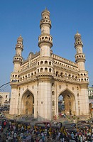 Charminar, Hyderabad, Andhra Pradesh state, India, Asia