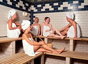 10851455, Sweden, Stockholm, Group, Women, Sauna,