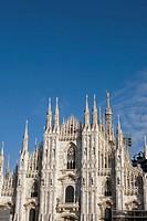 Italy, Milan, Duomo, Madonnina, Europe