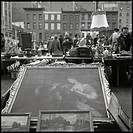 Loppmarknad I New York, Visual Art Market In New YorkB/W
