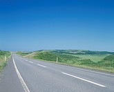 A Road And Blue Sky (thumbnail)