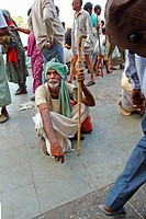 Pilgrims, Haridwar, Uttarakhand, India