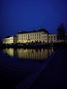 Drottningholms Slott, Drottningholm Palace And Lake