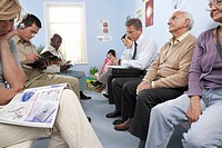 General practice waiting room