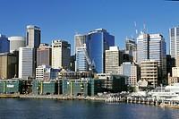 Building boom in Sydney Australia