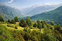 Benasque Valley in the Pyrenees Mountains. Huesca province. Aragon. Spain