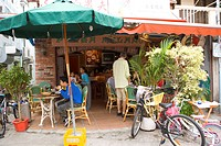 An Italian food restaurant, Lamma Island, Hong Kong