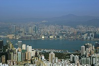Cityscape from Jardine Lookout, Hong Kong