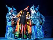 China, Shanghai, Yifu Theatre, chinese kunqu opera performance