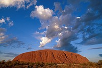 AYERS ROCK at SUNRISE. Uluru_Kata Tjuta National Park. Northern Territory. Australia