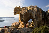 Bearrock, Capo d Orso, Sardinia, Italy