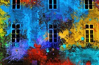 Lyon's Festival of Lights is a four-day event where contemporary light installations illuminate the city (December 8th, 2008). Fa&#231;ades of the Museum o...