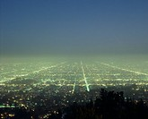 The Night View Of Los Angeles
