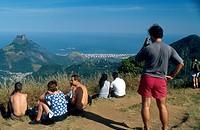 Landscape, People, Rio de Janeiro, Brazil