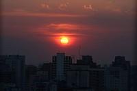 Sunset, City, São Paulo, Brazil