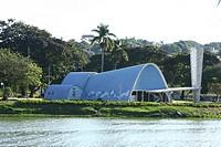 São Francisco de Assis Church, Pampulha Pond, Pampulha, Belo Horizonte, Minas Gerais, Brazil