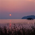 Sunset Over Lake Biwa