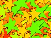 Multi-Colored Stars (thumbnail)